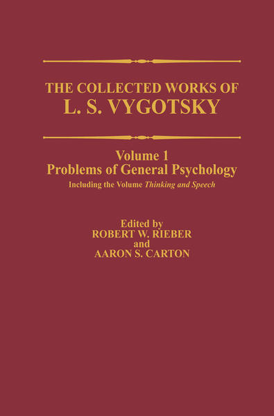 The Collected Works of L. S. Vygotsky - Coverbild