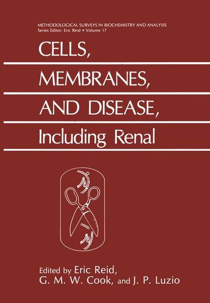 Cells, Membranes, and Disease, Including Renal - Coverbild