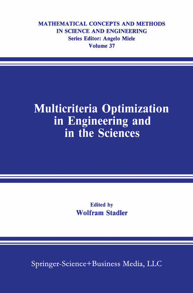 Multicriteria Optimization in Engineering and in the Sciences - Coverbild