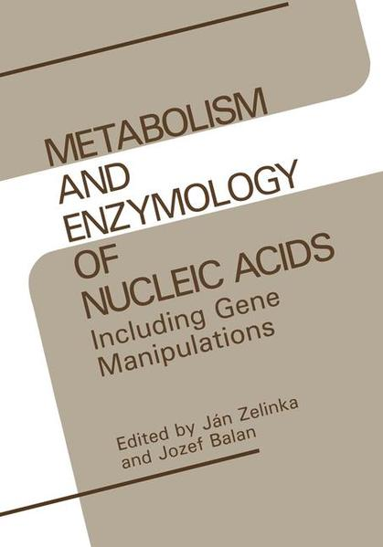 Metabolism and Enzymology of Nucleic Acids - Coverbild