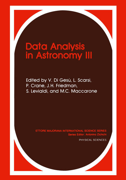 Data Analysis in Astronomy III - Coverbild