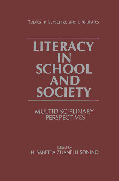 Literacy in School and Society - Coverbild