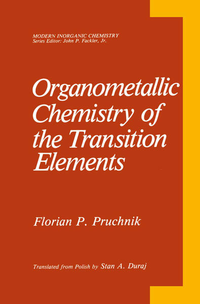 Organometallic Chemistry of the Transition Elements - Coverbild