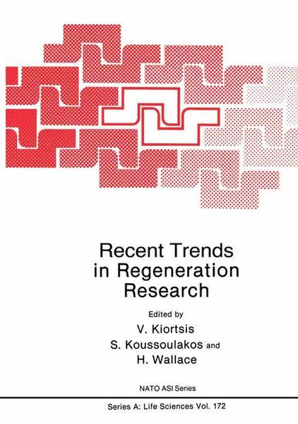 Recent Trends in Regeneration Research - Coverbild