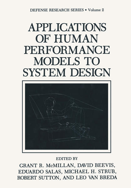 Applications of Human Performance Models to System Design - Coverbild
