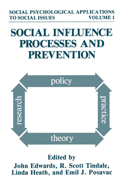 Social Influence Processes and Prevention - Coverbild