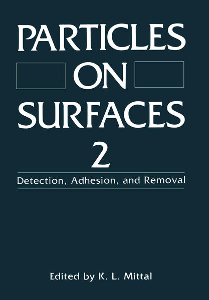 Particles on Surfaces 2 - Coverbild