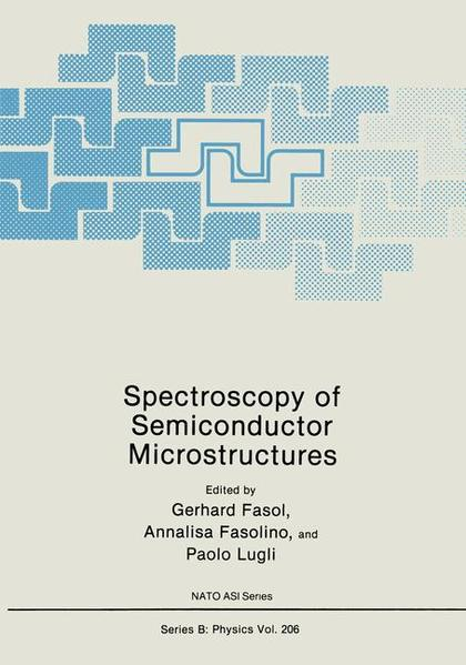 Spectroscopy of Semiconductor Microstructures - Coverbild
