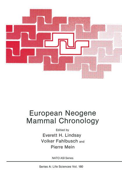 European Neogene Mammal Chronology - Coverbild