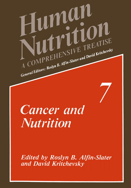 Cancer and Nutrition - Coverbild