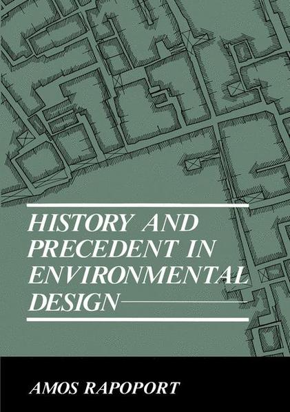 History and Precedent in Environmental Design - Coverbild