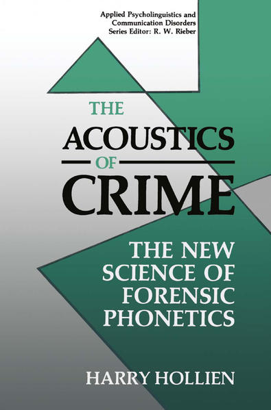 The Acoustics of Crime - Coverbild