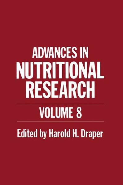 Advances in Nutritional Research - Coverbild
