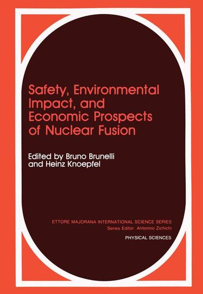 Safety, Environmental Impact, and Economic Prospects of Nuclear Fusion - Coverbild
