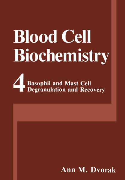 Basophil and Mast Cell Degranulation and Recovery - Coverbild