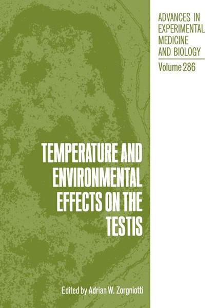 Temperature and Environmental Effects on the Testis - Coverbild