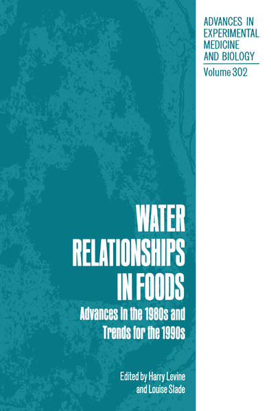 Water Relationships in Foods - Coverbild