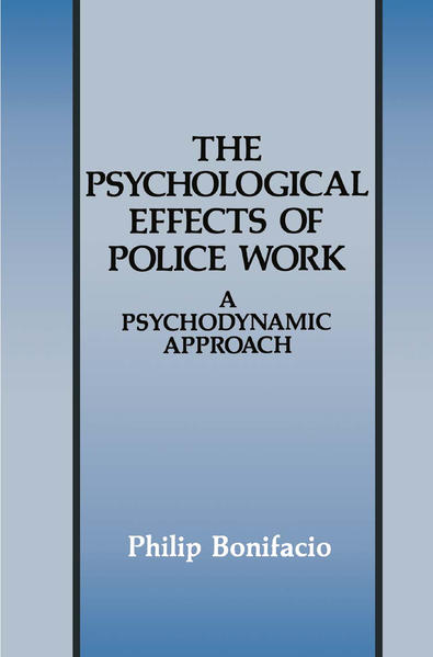 The Psychological Effects of Police Work - Coverbild