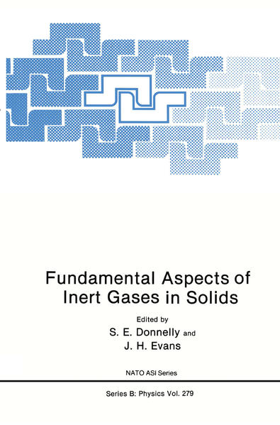 Fundamental Aspects of Inert Gases in Solids - Coverbild