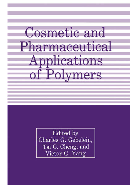Cosmetic and Pharmaceutical Applications of Polymers - Coverbild