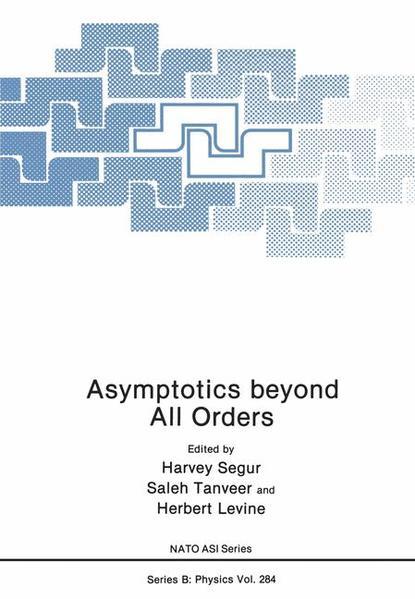 Asymptotics beyond All Orders - Coverbild