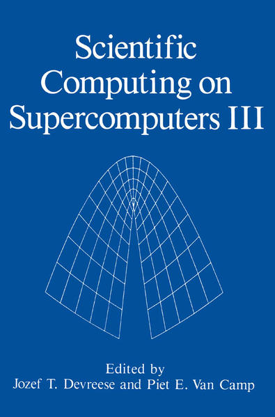 Scientific Computing on Supercomputers III - Coverbild