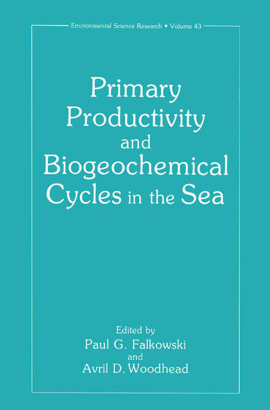 Primary Productivity and Biogeochemical Cycles in the Sea - Coverbild