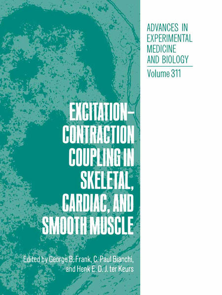 Excitation-Contraction Coupling in Skeletal, Cardiac, and Smooth Muscle - Coverbild