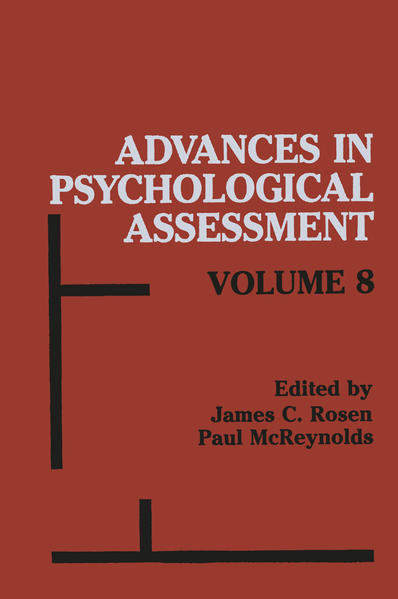 Advances in Psychological Assessment - Coverbild