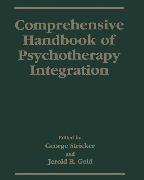 Comprehensive Handbook of Psychotherapy Integration - Coverbild