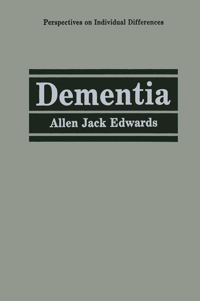 Dementia - Coverbild
