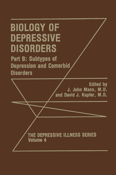 Biology of Depressive Disorders. Part B - Coverbild