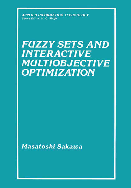 Fuzzy Sets and Interactive Multiobjective Optimization - Coverbild