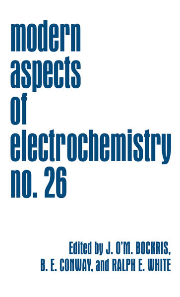 Modern Aspects of Electrochemistry - Coverbild