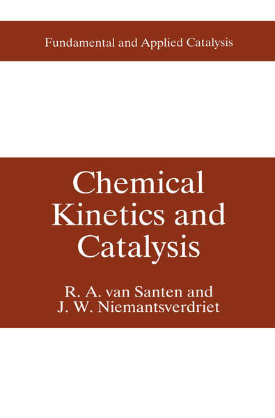 Chemical Kinetics and Catalysis - Coverbild