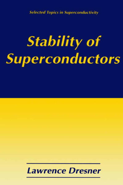 Stability of Superconductors - Coverbild