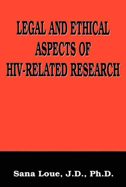 Legal and Ethical Aspects of HIV-Related Research - Coverbild