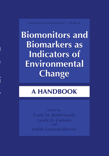 Biomonitors and Biomarkers as Indicators of Environmental Change - Coverbild