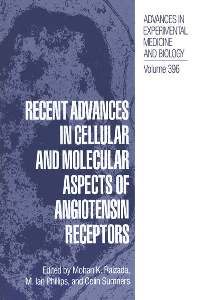 Recent Advances in Cellular and Molecular Aspects of Angiotensin Receptors - Coverbild