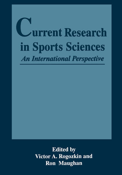 Current Research in Sports Sciences - Coverbild