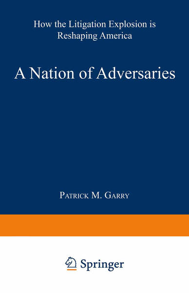 A Nation of Adversaries - Coverbild