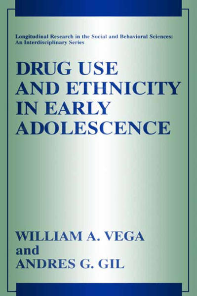 Drug Use and Ethnicity in Early Adolescence - Coverbild