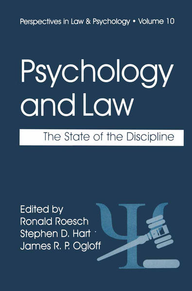 Psychology and Law - Coverbild