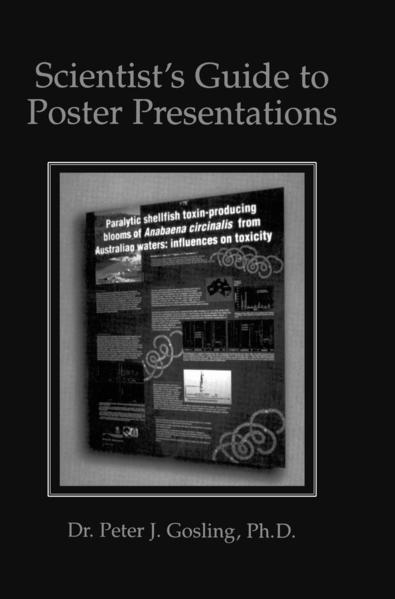 Scientist's Guide to Poster Presentations - Coverbild