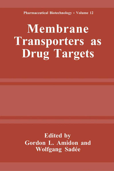 Membrane Transporters as Drug Targets - Coverbild