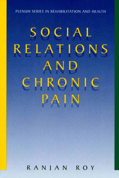 Social Relations and Chronic Pain - Coverbild