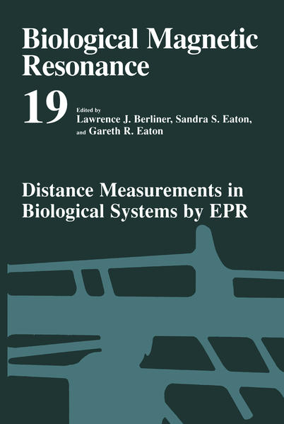 Distance Measurements in Biological Systems by EPR - Coverbild