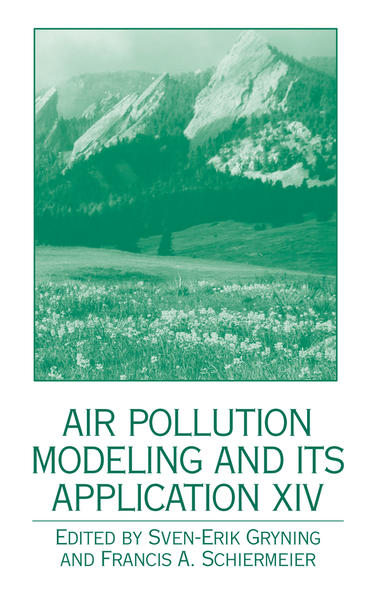 Air Pollution Modeling and its Application XIV - Coverbild