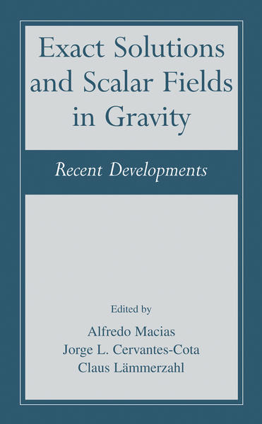 Exact Solutions and Scalar Fields in Gravity - Coverbild