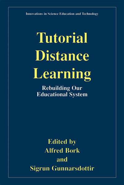 Tutorial Distance Learning - Coverbild